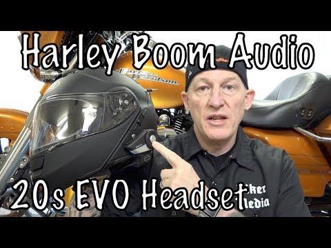 Harley Boom! Audio Sena 20S EVO Bluetooth Headset-How to Setup & Use