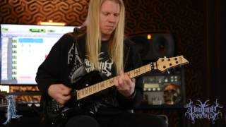Pro Tone Pedals Jeff Loomis Arch Enemy Stolen Life Play Through and Signature Pedal Introduction