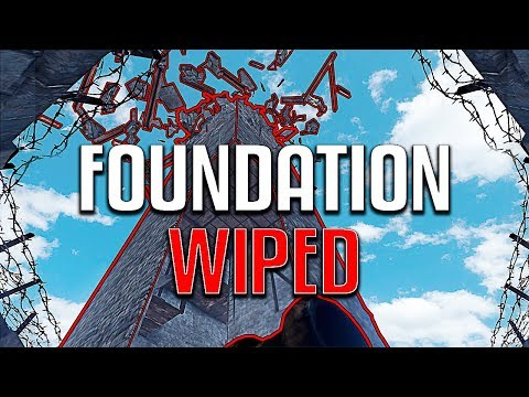RUST | FOUNDATION WIPING a Clan and Giving Away the LOOT