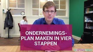 Ondernemingsplan maken in vier stappen (voor woningcorporaties)