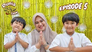 Lebaran Asik Bareng Nyam Nyam Dunia Nyam Nyam Show Episode 05 With Superduper Ziyan