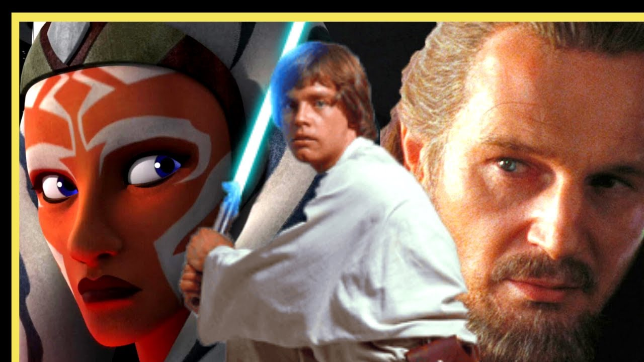 The Rebel Connection | Ahsoka Tano - Luke Skywalker - Qui-Gon Jinn | Star Wars