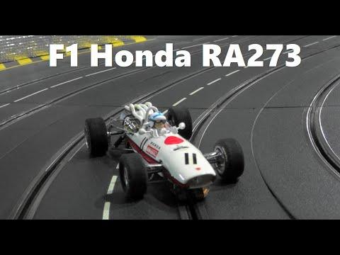 Slot Car  Honda Formula1 RA273 No11 1967 in Carrera Slot Car RaceTrack (1/24Scale)スロットカー ホンダF1 RA273