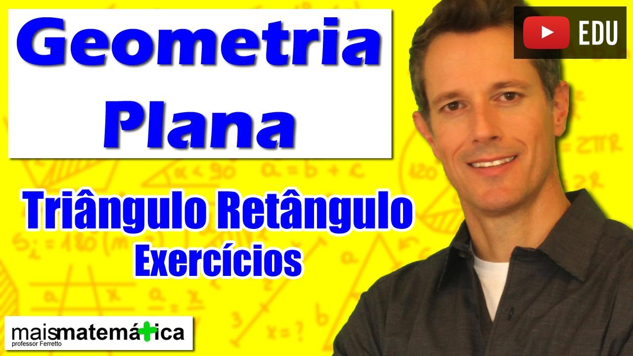 video aula de geometria plana