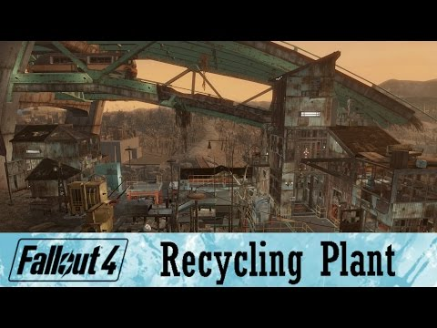 Fallout 4 Greygarden Recycling Plant | Contraptions DLC Idea