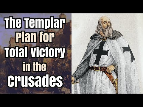 The Templar Plan for Total Victory in the Crusades