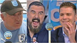 ¿Ya no sirve ganarle a las Chivas? ¡Vucetich lo insinuó y se armó el debate! | ESPN AM