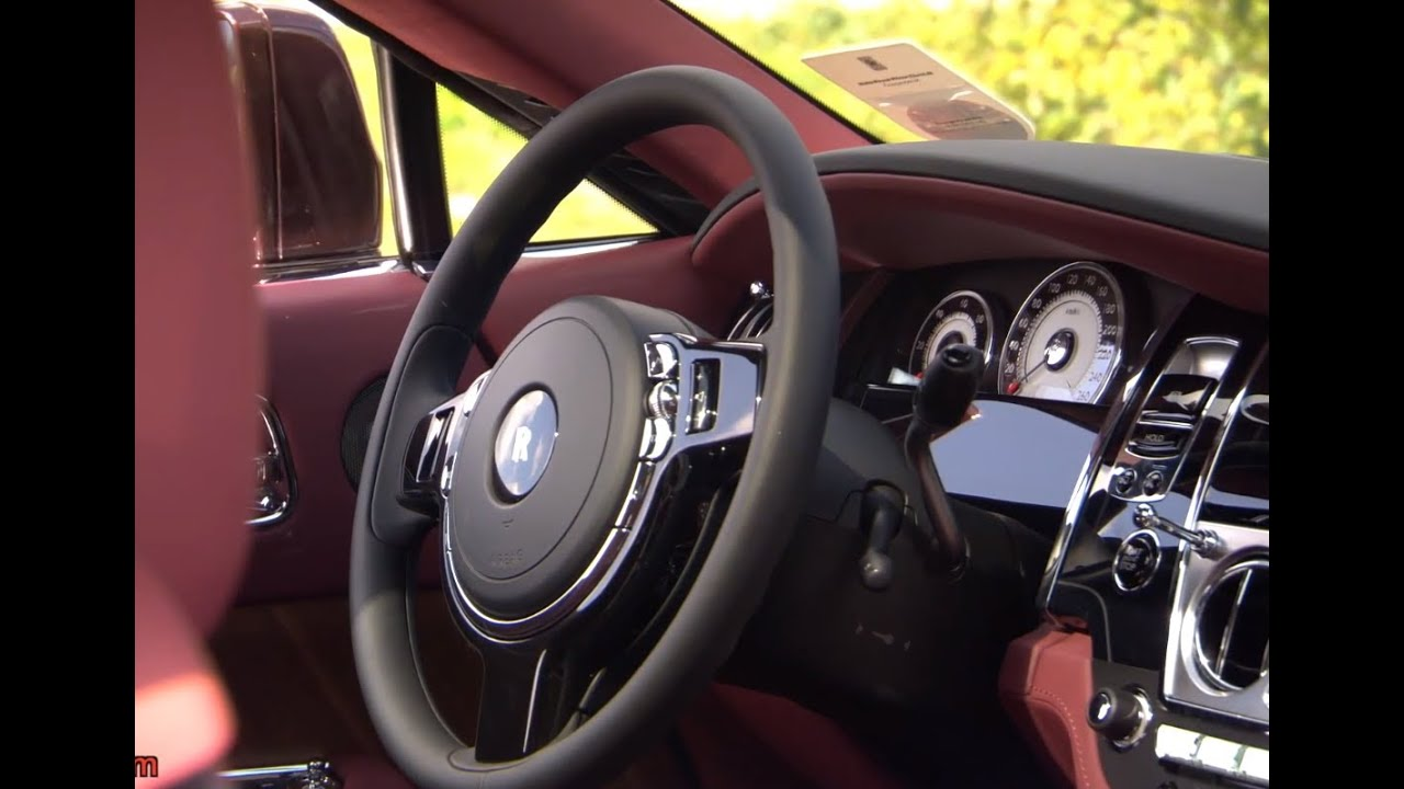 Rolls Royce Wraith HD Interior In Detail Commercial 2014 Carjam TV HD Car TV Show