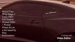 FBO/E85 C7 Corvette Stingray vs Heads/Cam Auto 6 Gen Camaro SS