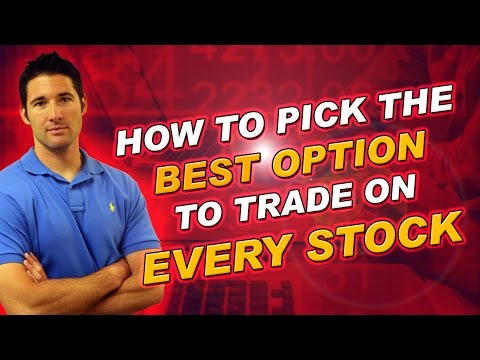 Buying Stock Options- How To Pick the Best Option to Buy on Every Stock
