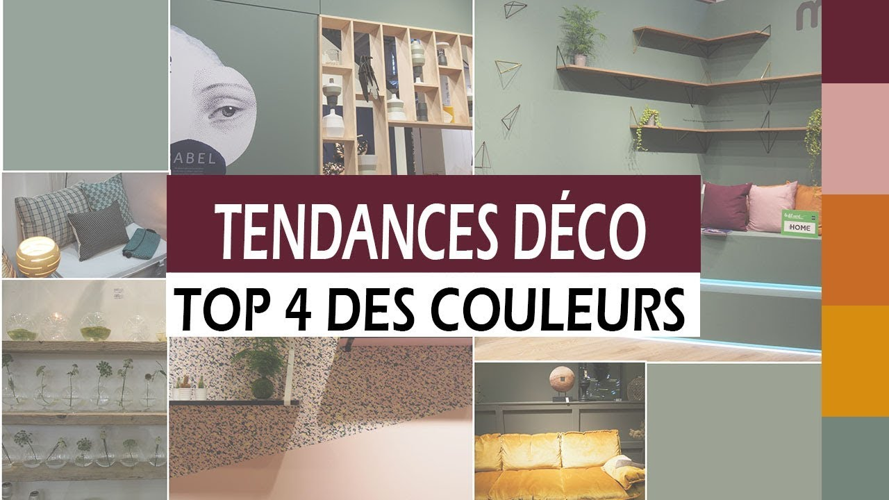 tendance deco le top 4 des couleurs 2017 2018 automne hiver youtube. Black Bedroom Furniture Sets. Home Design Ideas