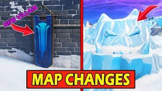 *NEW* CHRISTMAS MAP CHANGES! *DECORATIONS* FORTNITE SEASON 7 STORYLINE