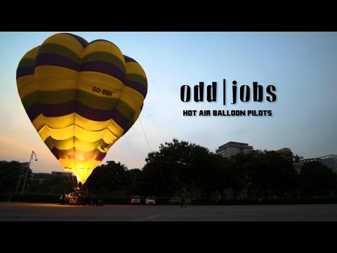 Odd Jobs: Hot Air Balloon Pilots