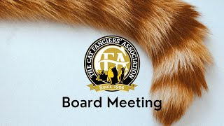 CFA Board Meeting April 6, 2021