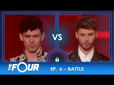 Dian Rene vs James Graham: The Brit Slays Michael Jackson vs The Hot Cuban Salsa!  S2E4  The Four