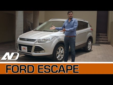 Ford Escape - Lo familiar no le quita lo divertido
