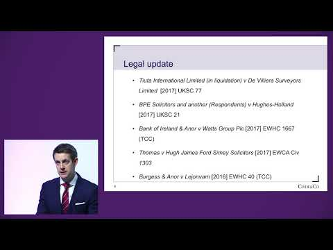RICS Valuations Conference | Risk, Liability and Insurance in Valuation