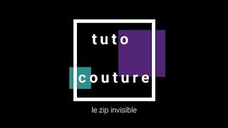 tuto couture: le zip invisible