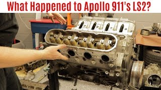 Going inside Apollo 911's Blown LS2 Engine (Part 3 Apollo 911 Series)
