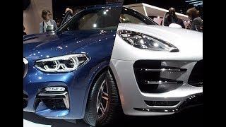2018 BMW X3 vs. 2018 Porsche Macan