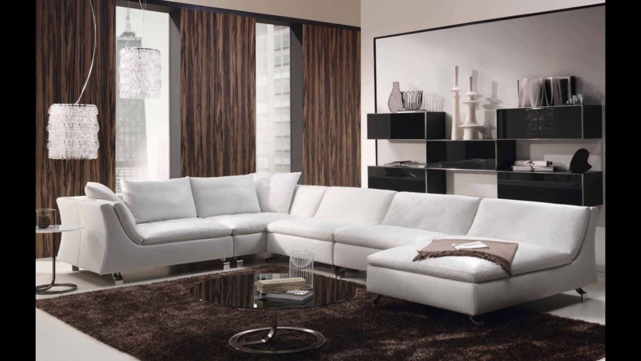 Furniture _ Minimalist L Shaped Leather For Small Living ...