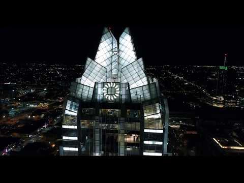 Austin, TX - Breathtaking Night Aerials in 4K - DJI Phantom 4 Pro