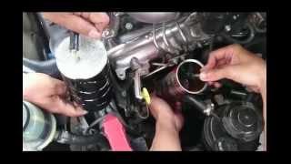 Cara membersihkan injektor mesin diesel pada mobil
