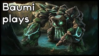 Dota 2 | 1000GPM RAMPAGING MOON GOD!! | Baumi plays Tiny