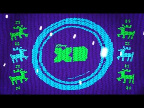 Disney XD EMEA Christmas Sweater Countdown Ident
