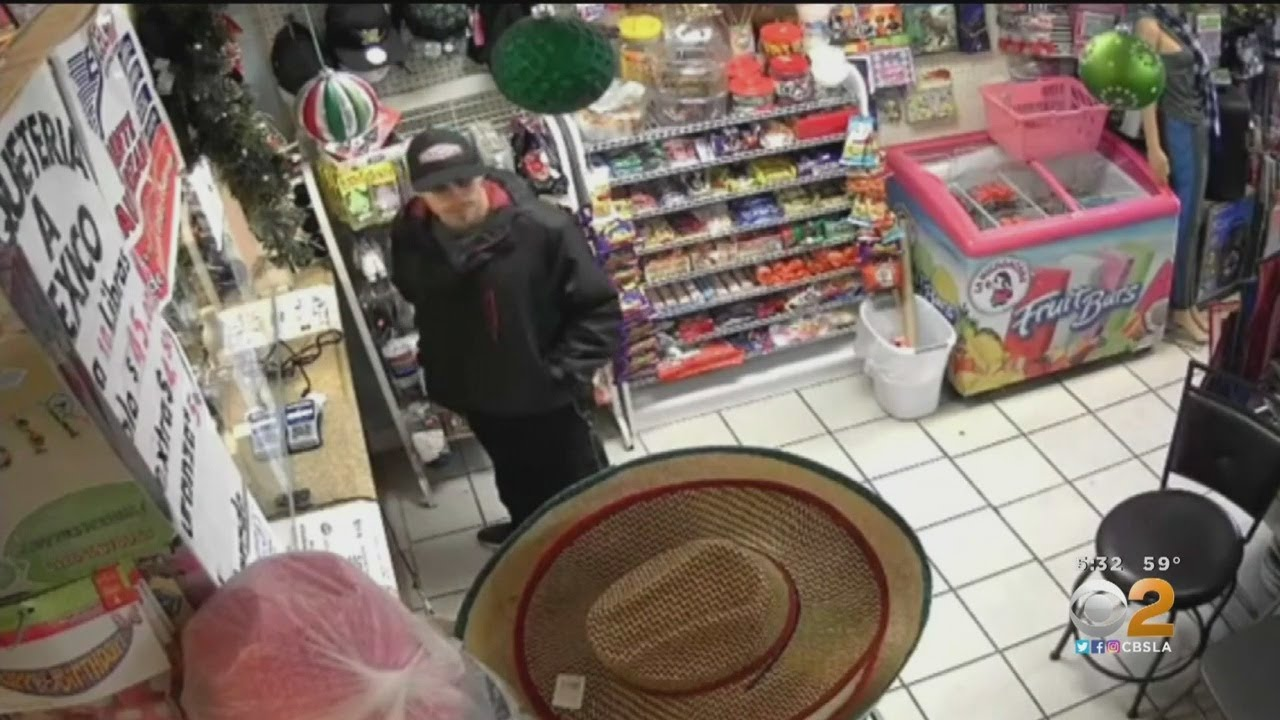 Police Seek Public's Help Identifying Man Who Robbed Santa Ana Mini Mart