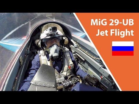 MiG 29-UB Jet Flight - Nizhny Novgorod, Russia