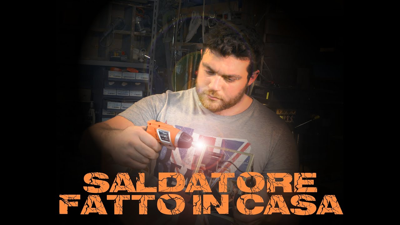 Saldatrice fatta in casa fai da te do it yourself for Pistone idraulico fai da te