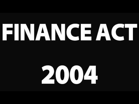 Finance act 2004 : big implications for contractors