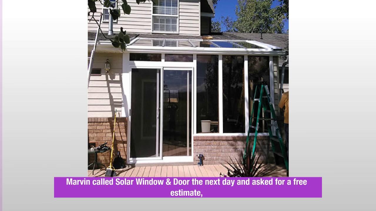 Exterior Doors Salt Lake City Solar Window Door Youtube