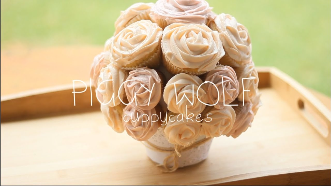 Cupcake Rose Bouquet - YouTube