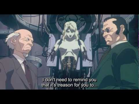 Ghost in the Shell - Puppet Master hacker scene