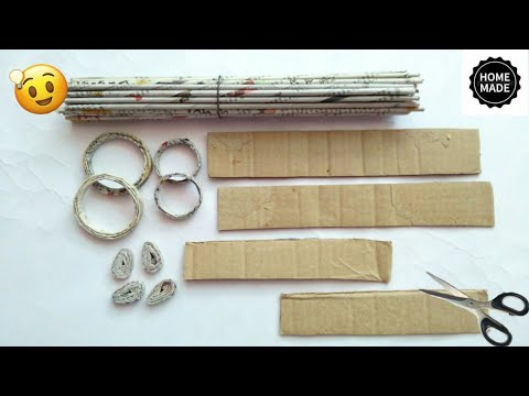 Best out of waste craft ideas | Newspaper craft ideas | best use of old newspaper | #HMA472