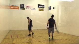 IRT Tour Pro Racquetball Ben Croft vs. Rocky Carson