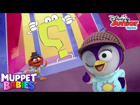 I'm On the Case Music Video | Muppet Babies | Disney Junior