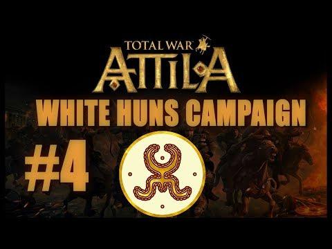 Total War: Attila - White Huns Campaign #4