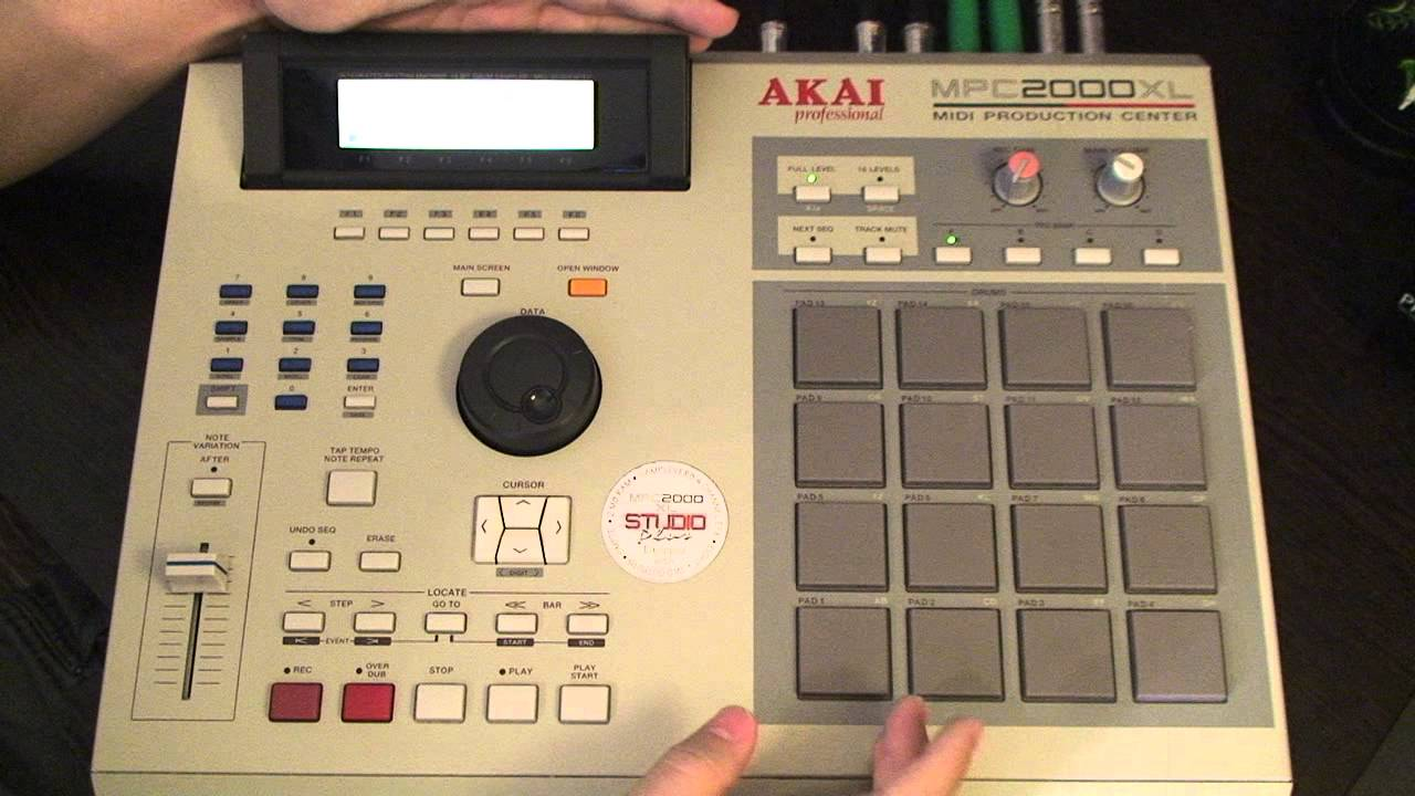 Samples recorded on mpc 2000 system
