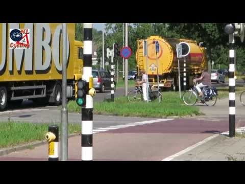 Cycling and Trucks in the Netherlands