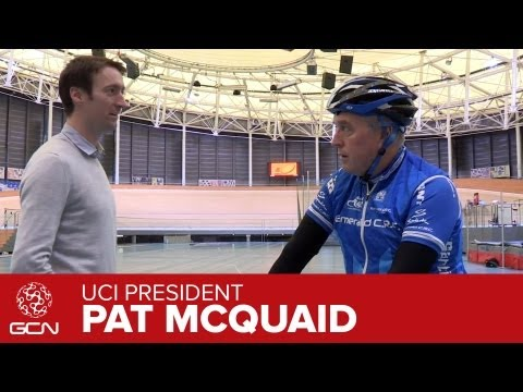 UCI President Pat McQuaid Interview Pt 2 - How Did he Get Into Cycling?