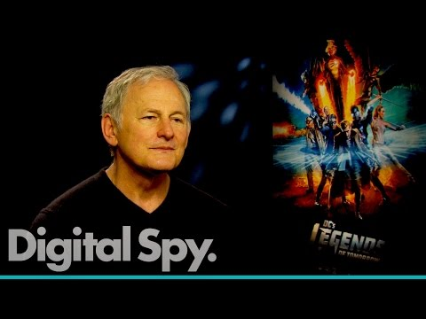 Victor Garber tells us he gets lost trying to understand Franz's London slang