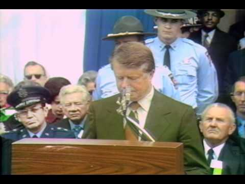 jimmy carter inaugural address