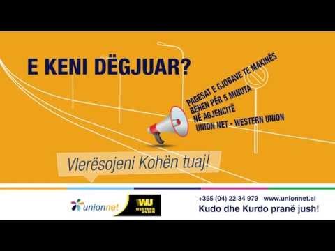 Union Net - Western Union Pagesa Gjobat e Policise