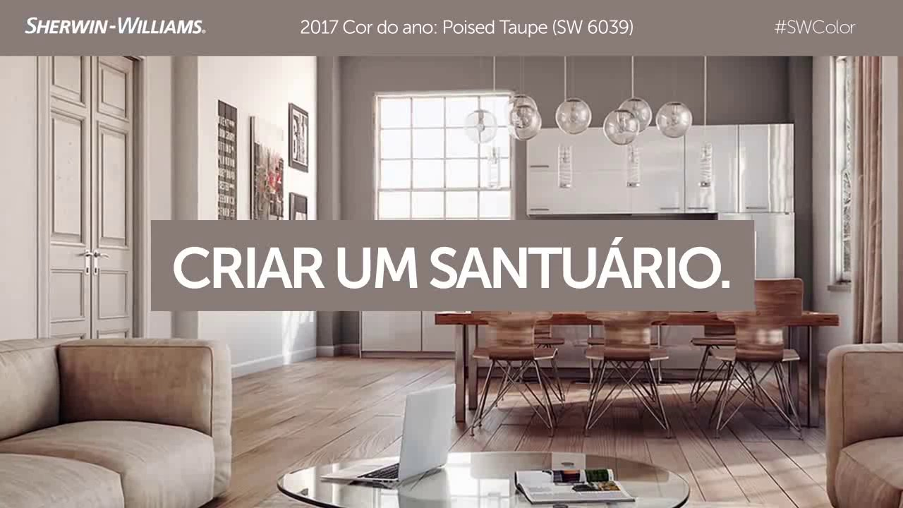 Poised Taupe A Cor Do Ano De 2017 Youtube
