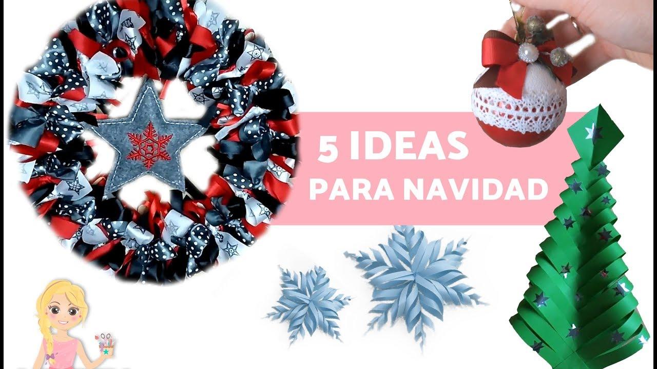 Adornos navide os ideas para decorar en navidad youtube - Ideas adornos navidenos ...
