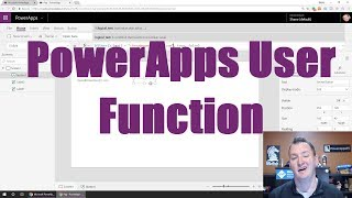 PowerApps User Function and intro to Office 365 User connector