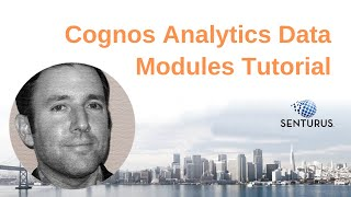 How to Create Data Modules in Cognos Analytics v11